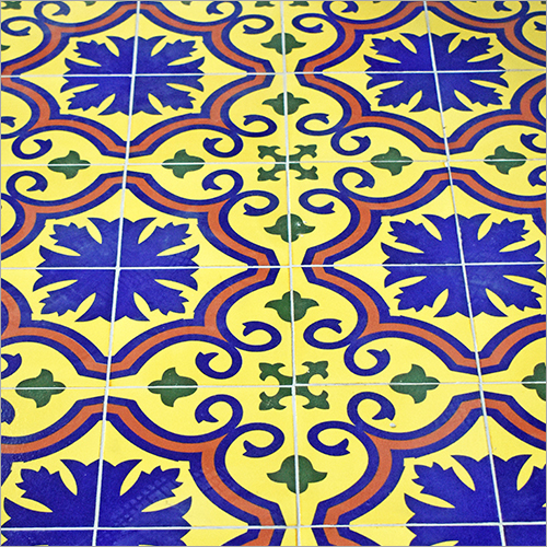Pringting on Decorative Turkish Tiles