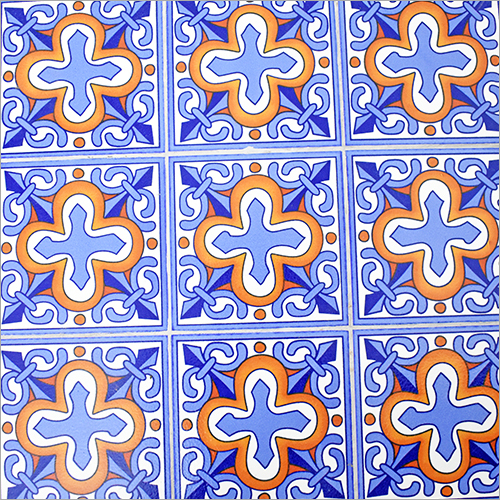 Printed Designer Turkish Tile