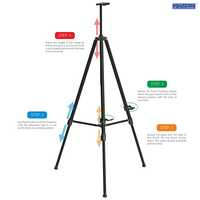 Odyssey Telescopic Foldable Art Easel Stand ET-03