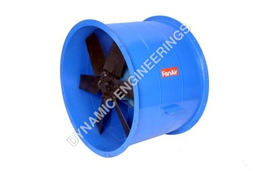 Long Casing Direct Drive Axial Fan