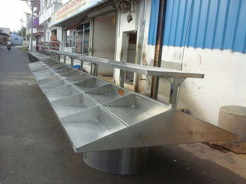 Stainless Steel Vegetable Display