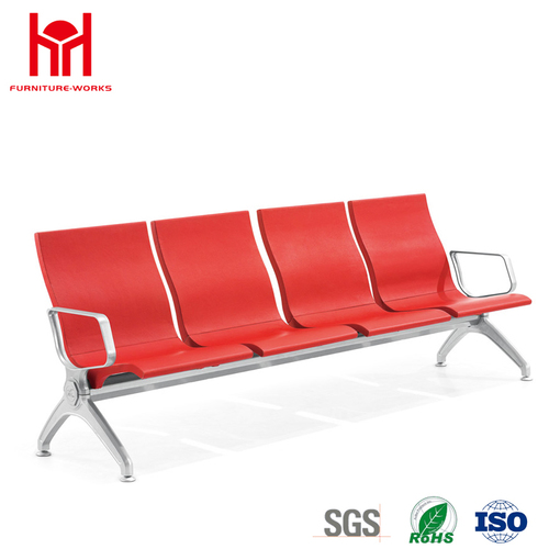 Wholesale Modern 4-Seater PU Waiting Chairs From Guangdong Factory