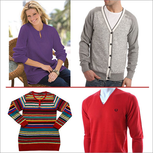 Sweaters and Cardigans Flat knitting Machine