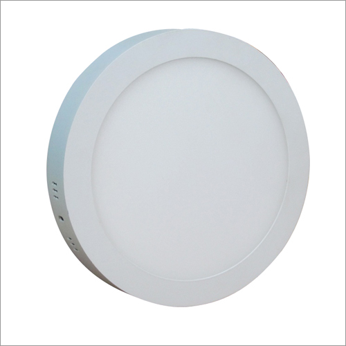 12W LED Surface Round Panel Light