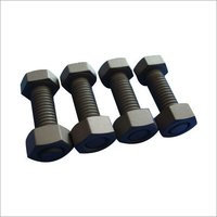 Full Thread Ms Hex Nut And Bolt
