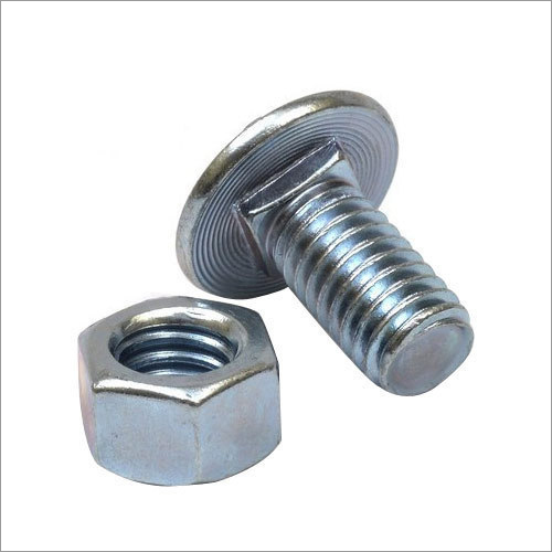 Round Head Nut And Bolt