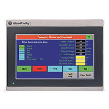 Allen Bradley 2711R-T4T - 4 Inch Human Machine Interface Screen Size(inches): 4
