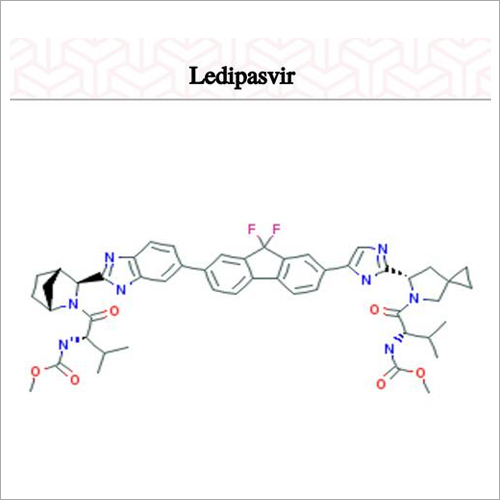 Ledipasvir Chemical Compound