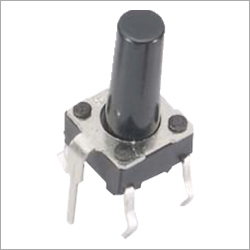 Black Button Tact Switch