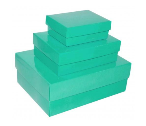Green Gloss Laminated Gift Box