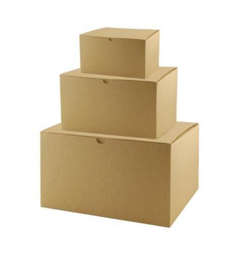 Rectangle Brown Kraft Gift Box