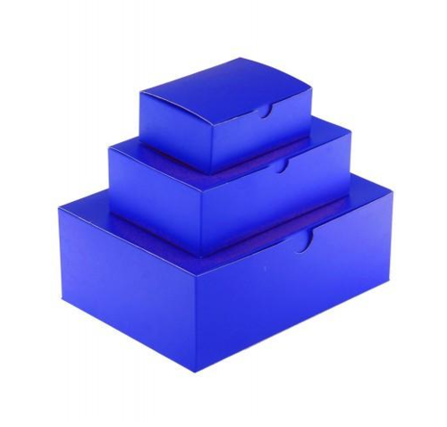 Indigo Blue Laminated Gift Box