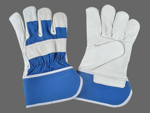 CHROME CANADIAN HAND GLOVES.