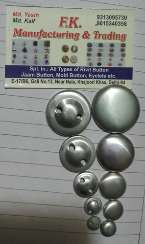 Aluminum Mold Button