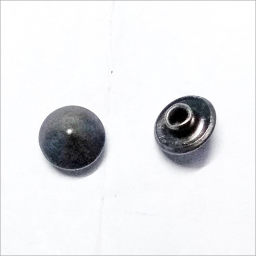 Conical Brass Button