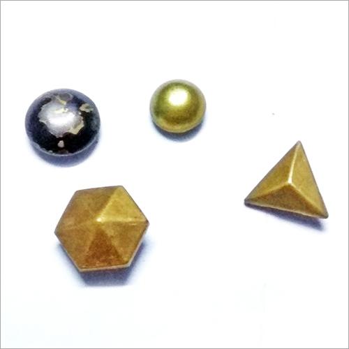 Designer Brass Button