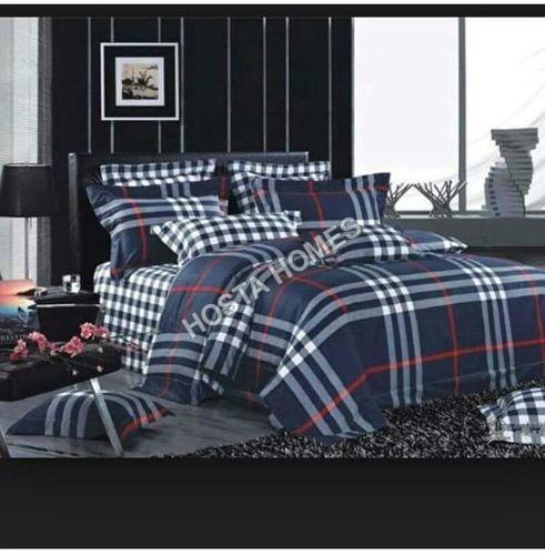 Checks Design Double Bed AC Blanket