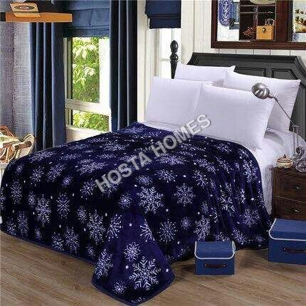 Double Bed AC Blanket with Abstract Design