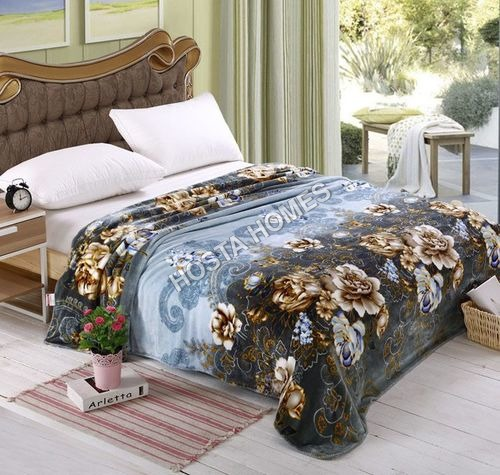 Double Bed AC Blanket With Floral Design