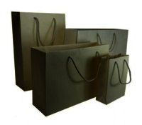 Ivory Matt Laminated Carrier Bag