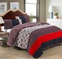 Abstract Single Bed AC Blanket With Pillow Cover(All Weight Availbable)