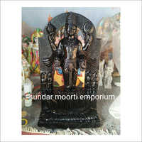 Black Marble Dwarkadeesh Statue