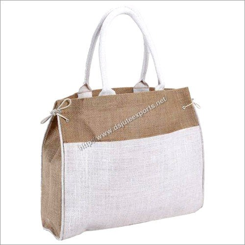 Plain Jute Shopping Bag