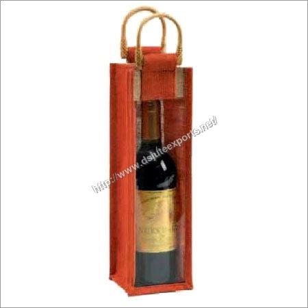 Single Wine Bottle Bag