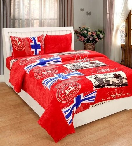 Abstract Super Soft Single Bed AC Blanket(All Weight Available)