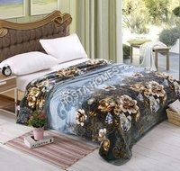 Floral Single Bed AC Blanket