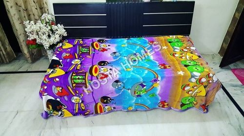 Cartoon Print Super Soft Baby AC Blanket