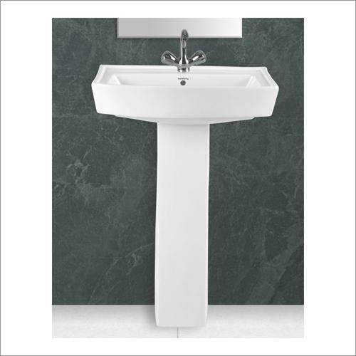 Ceramic Classic Set Pedestal Wash Basin