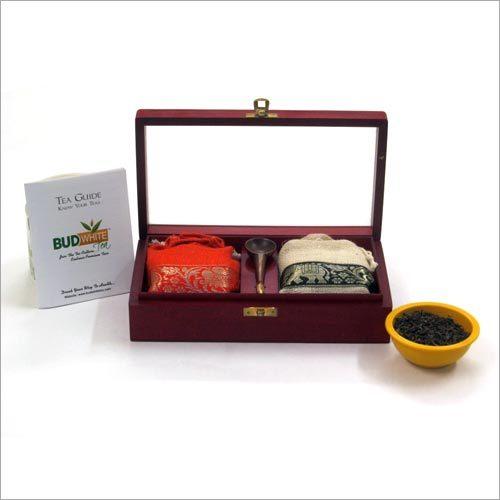 Bud White Classic Jute Gift Box