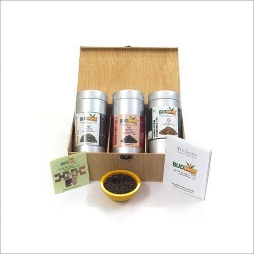 Deluxe Wooden Tea Box