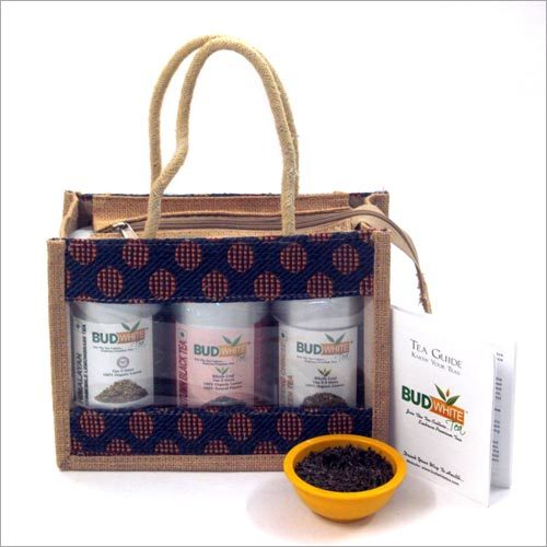 Jute Bag Tea Set