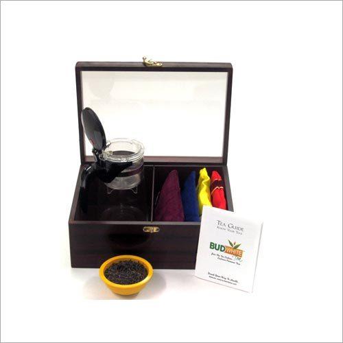 Teapot Tea Gift Wooden Set