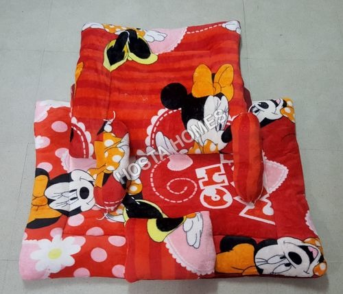 Micky Mouse Print Super Soft Baby AC Comforter Set