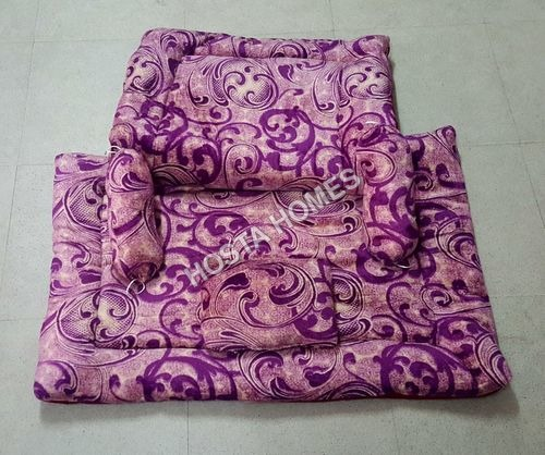 Super Soft Baby AC Comforter Set With Purple Design (5 Piece)