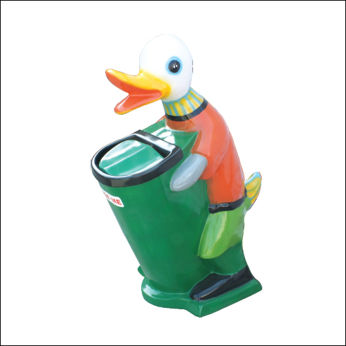 Duck Fiber Medium Dustbin