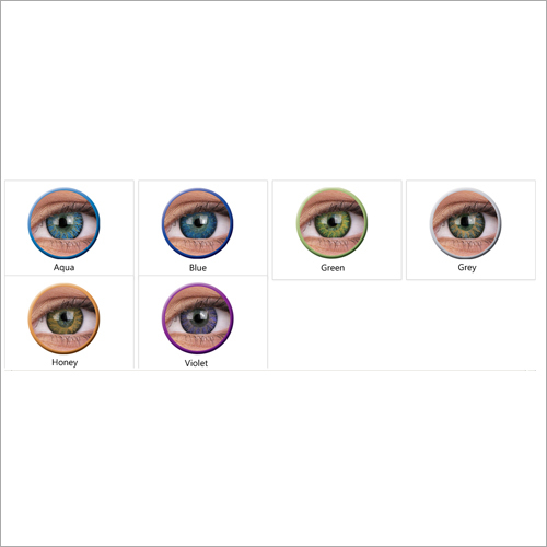 Glamour Blue Colored Contact Lense