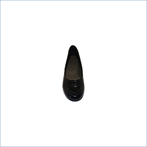 Black Patent Belly Shoe