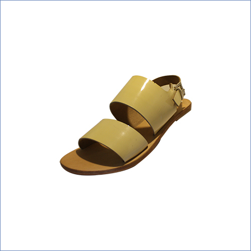 Patent Open Leather Sandal