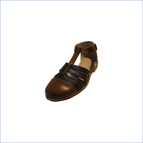 Handstiched Multicolour Leather Sandal