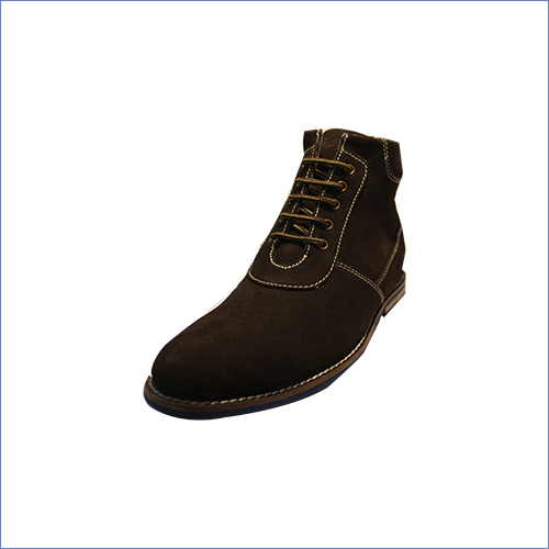 Suede Leather Boot
