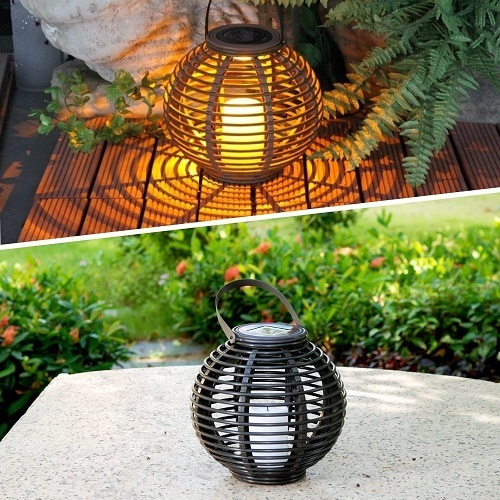 Outdoor Decorative Solar Powered Candle