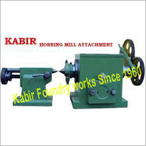 Hobbing Mill Attachment