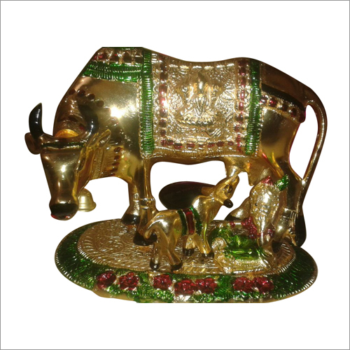 Brass Handicraft Statue