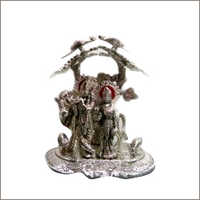 Silver Goddess Statue