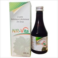 Lysine Multivitamin  Multimineral Zinc Syrup