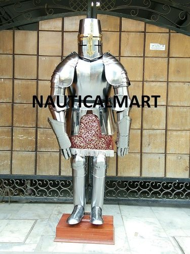 Nauticalmart Medieval Knight Wearable Crusader Full Suit Of Armour - Halloween Costume